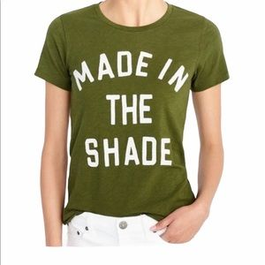 J. Crew Made in the Shade Collector Tee